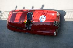 1948 Fiat 1100 S Berlinetta Gobbone in Mille Miglia Royalty-vrije Stock Foto's