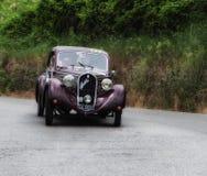 FIAT 508 S Berlinetta Mille Miglia 1936 Stock Photo