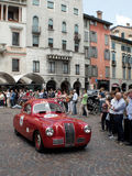 Fiat 1100S Berlinetta at Mille Miglia 2015 Stock Photo