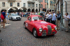 Fiat 1100S Berlinetta at Mille Miglia 2015 Stock Photography