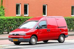 Fiat Scudo Stock Image