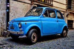 Fiat 500 am 20. September 2013 in Rom Lizenzfreie Stockfotos