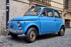 A Fiat 500 on September 20, 2013 in Rome. F Stock Images
