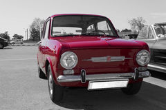 1968, Fiat 850 Special. Old vintage 1968 Fiat 850 Special exposed in a retro car event Royalty Free Stock Photography