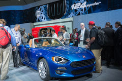 Fiat 124 Spider 2017 Royalty Free Stock Image