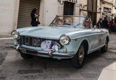 Fiat spider 124 Stock Images