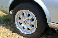 Fiat spider wheel Royalty Free Stock Photos