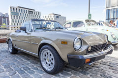 Fiat 124 Spin Royalty-vrije Stock Fotografie