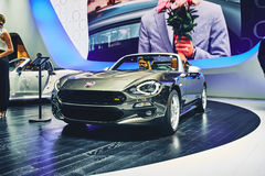 2016 Fiat 124 Spin Stock Foto's