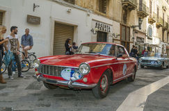 Fiat 124 sport coupe Stock Photo
