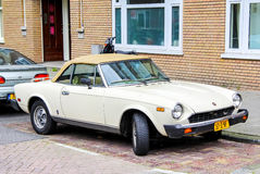 Fiat 124 Sport Spider Stock Photography