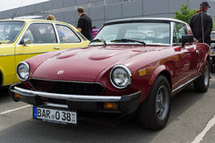 Fiat 124 Sport Spider Royalty Free Stock Images