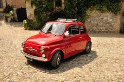 Fiat 500 stary styl Fotografia Royalty Free