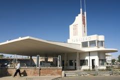 Italienische Kolonialarchitektur in Asmara Eritrea lizenzfreies stockfoto