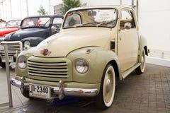 Fiat Topolino 500C, automobili dell'annata Fotografia Stock