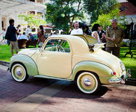 Fiat Topolino 500C on Vintage Car Parade Royalty Free Stock Photos