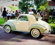 Fiat Topolino 500C on Vintage Car Parade Royalty Free Stock Photos
