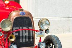 Fiat Topolino au salon automobile de vintage Images stock
