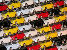 Fiat 500 toys Royalty Free Stock Photography