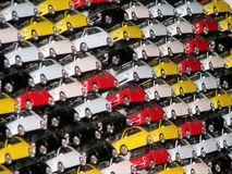 Fiat 500 toys Royalty Free Stock Images