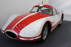 FIAT TURBINA prototype car. Turin  MARCH 12 -   FIAT TURBINA car on static display in Turin during the exhibition of  Italian Air Force  The Century with wings Royalty Free Stock Photography