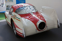FIAT TURBINA prototype car. Turin  MARCH 12 -   FIAT TURBINA car on static display in Turin during the exhibition of  Italian Air Force  The Century with wings Stock Images