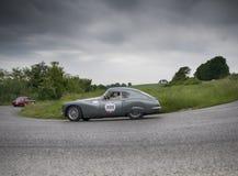 FIAT 8V berlinetta 1954 Arkivbild