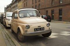 Fiat velho 500 litros Foto de Stock Royalty Free
