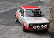 Fiat 127 verzamelingsauto Stock Fotografie