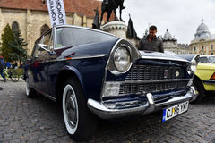 Fiat vintage car from Italy Stock Image
