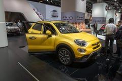 Fiat 500X Fotografering för Bildbyråer