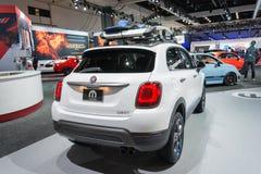 Fiat 500 X Mobe Lizenzfreie Stockbilder