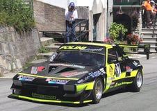 Fiat X1/9 springa Arkivfoto