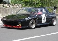 Fiat X1/9 wiecu samochód Obrazy Royalty Free