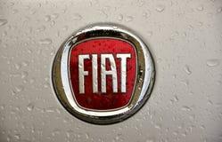 Fiat-Zeichen Lizenzfreies Stockbild