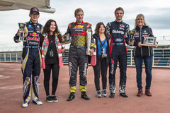 FiaWorldRx-Podium Rx Lites Cup-Cups and mothers Stock Photo
