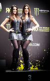FiaWorldRx-Podium Rx Lites Cup-Podium Girls. FIA World Rallycross Championship presented by Monster Energy, World RX of Turkey, have revealed 20 Supercar entries stock image