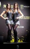 FiaWorldRx-Podium Rx Lites Cup-Podium Girls Stock Image