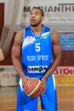 FIBA EuroChallenge:: Π.Χ. Mures εναντίον Rilski Sportist στοκ εικόνες