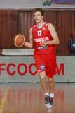 [FIBA Eurochallenge] BC Mures - Szolnoki Olaj Stock Afbeeldingen