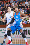FIBA EuroChallenge :: BC Mures vs Tsmoki Minsk Stock Photo