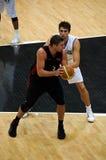 FIBA Trentino Cup: Italy vs Canada Stock Photos