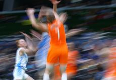 FIBA Womens EuroBasket 2019: Ukraine v Netherlands Stock Photos