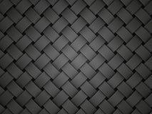 Fiber. Black fiber texture. close up 3d illustration Royalty Free Stock Images