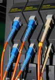 Fiber cables Stock Photo