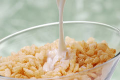Fiber cereal stock photo