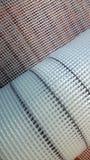 Fiber glass insulation. Mesh fiber-glass insulation texture closeup Stock Photo