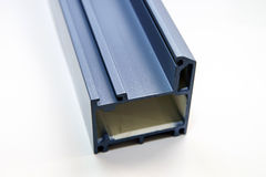 Fiber glass pultruded profile for windows and doors Royalty Free Stock Photo