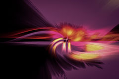 Fiber light abstract background for background.  Stock Image