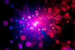Fiber optic abstract Stock Photos